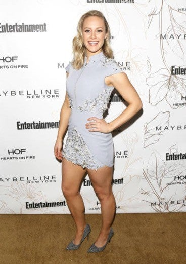 Danielle Savre at EW sag nominee party
