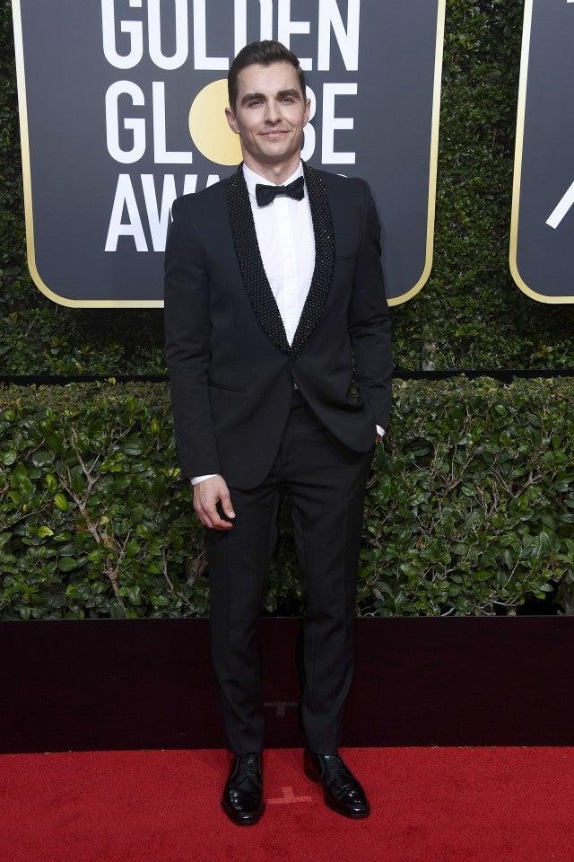Dave Franco at 2018 Golden Globes