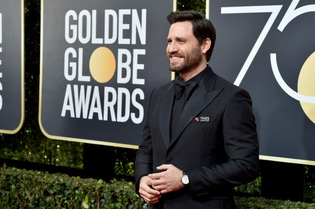 Edgar Ramirez Golden Globes 2018