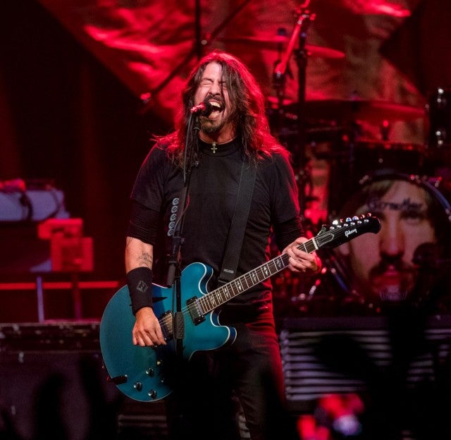 Foo Fighters on NYE