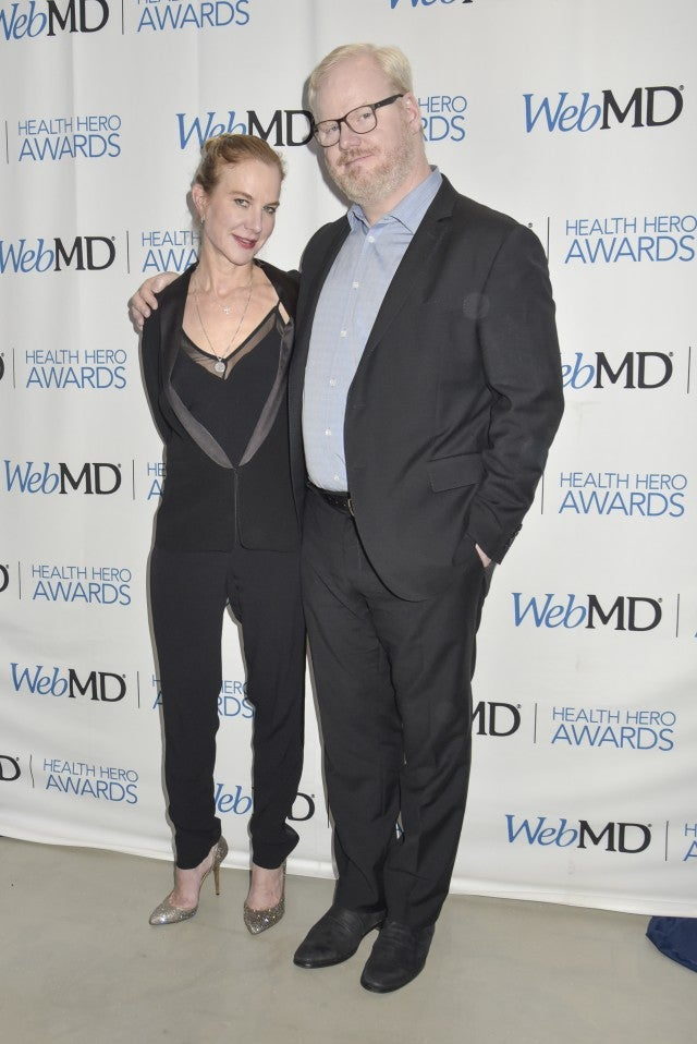 Jim and Jeannie Gaffigan at WebMD awards