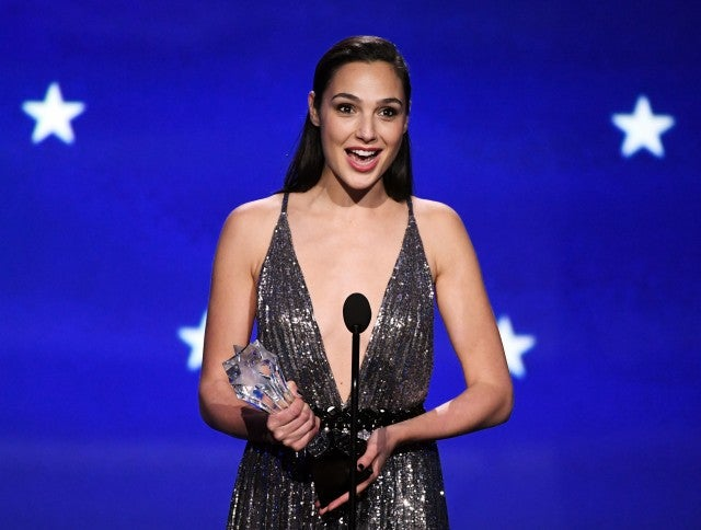 Gal Gadot Critics CHoice