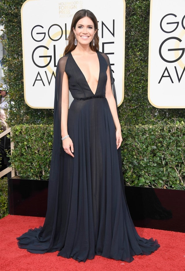 Mandy Moore at 2017 Golden Globes