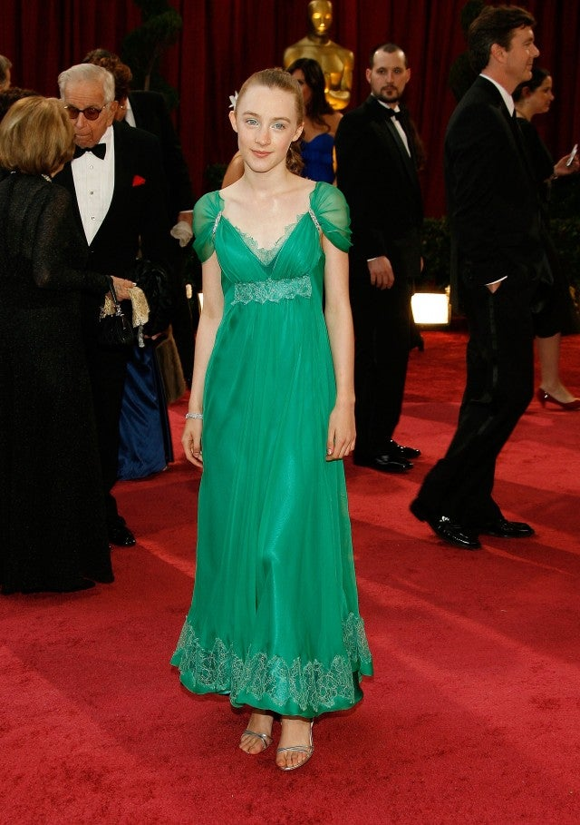 Saoirse Ronan at the 2008 Oscars.