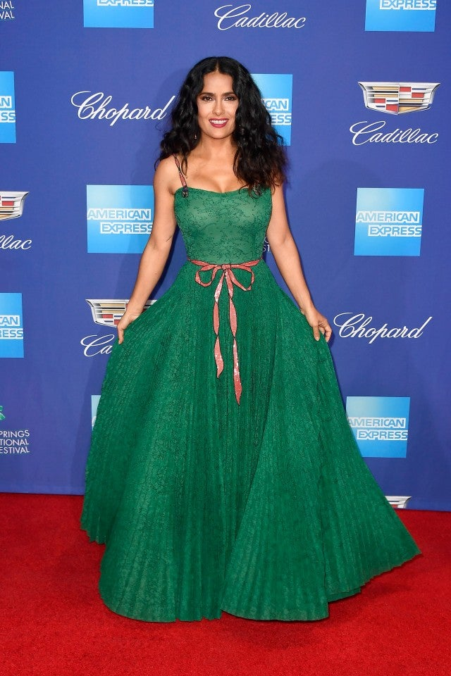Salma Hayek at 29th Annual Palm Springs International Film Festival Awards Gala
