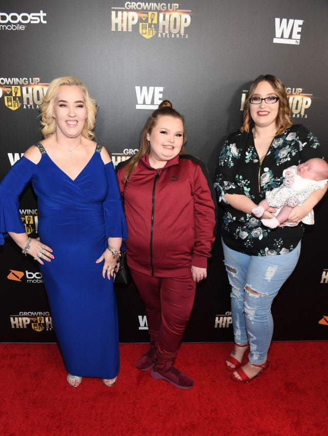 Mama June and daughters