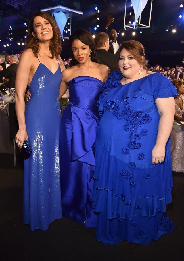 Mandy Moore, Susan Kelechi Watson and Chrissy Metz