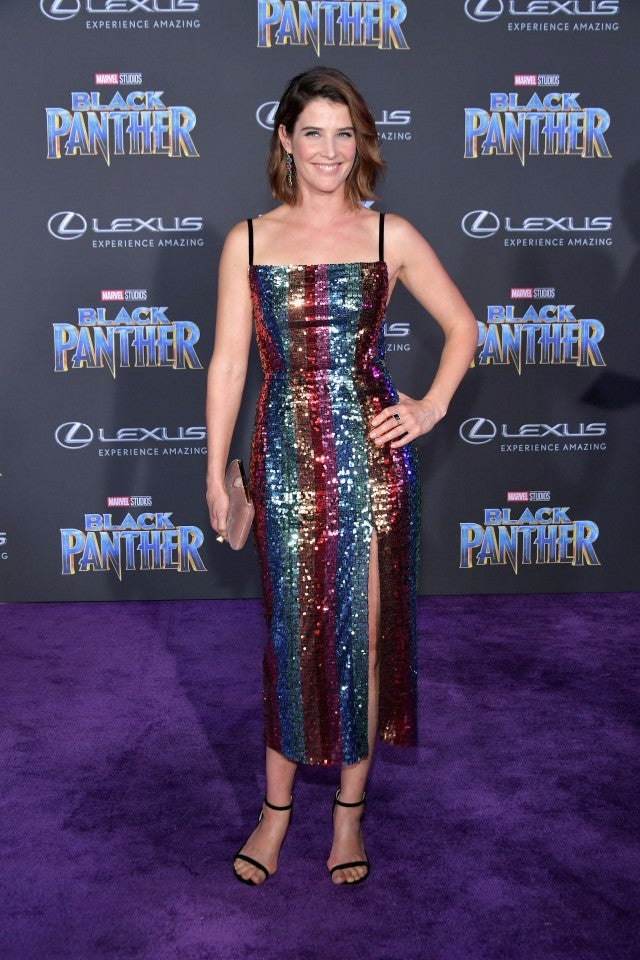 Cobie Smulders at Black Panther premiere