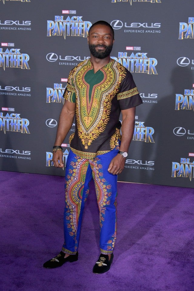 David Oyelowo at Black Panther premiere
