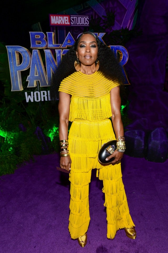 Angela Bassett at Black Panther premiere