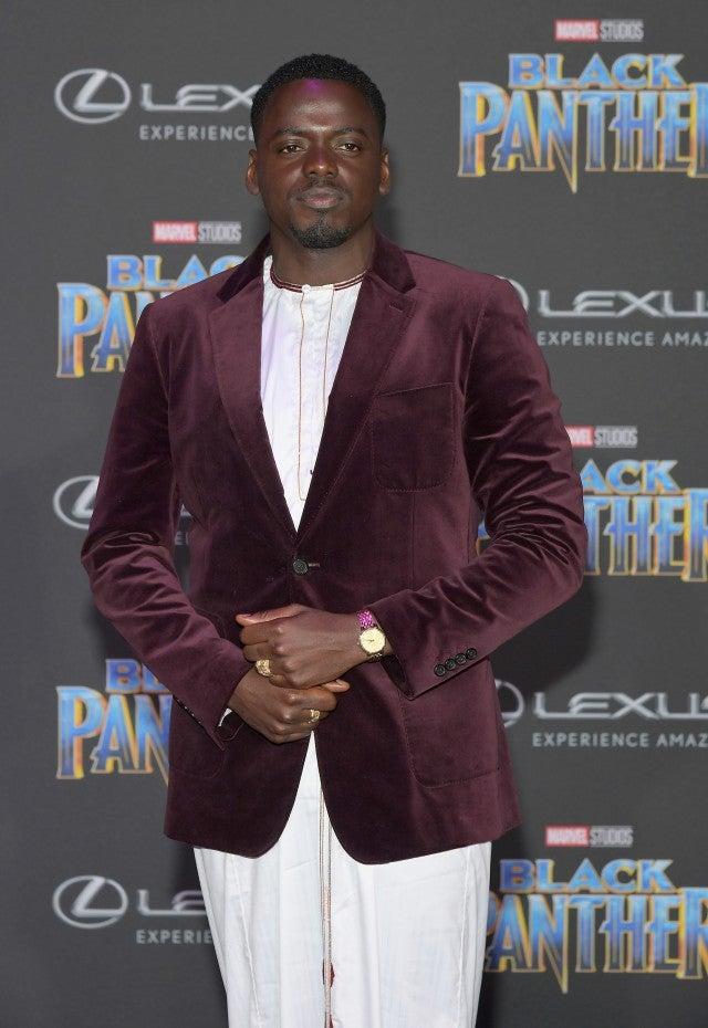 Daniel Kaluuya at Black Panther premiere