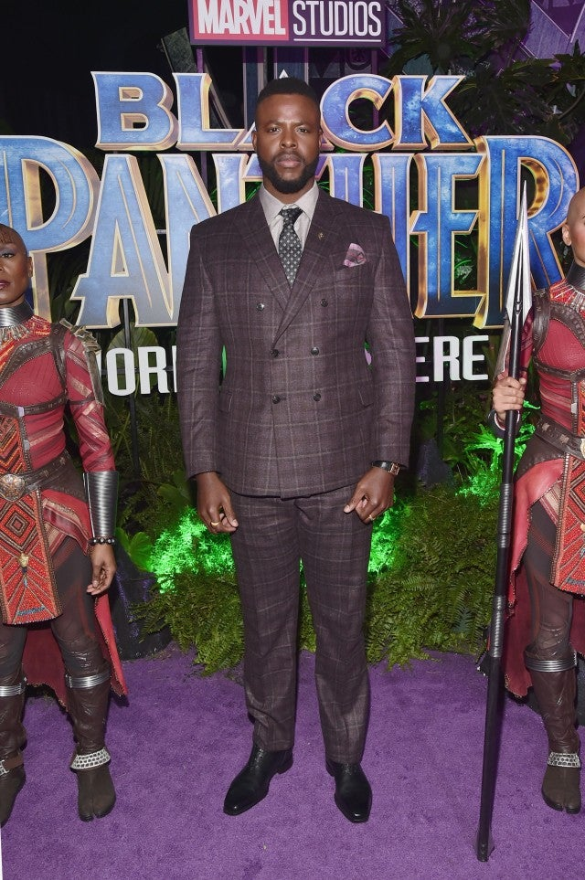 Winston Duke at Black Panthers premiere