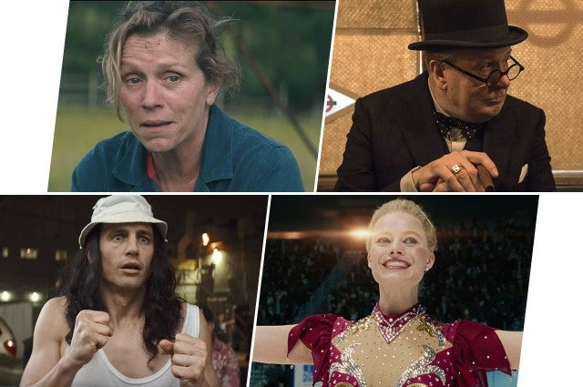 Golden Globes 2018 Film Predictions