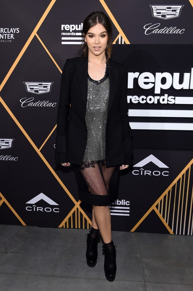 Hailee Steinfeld Republic Records party