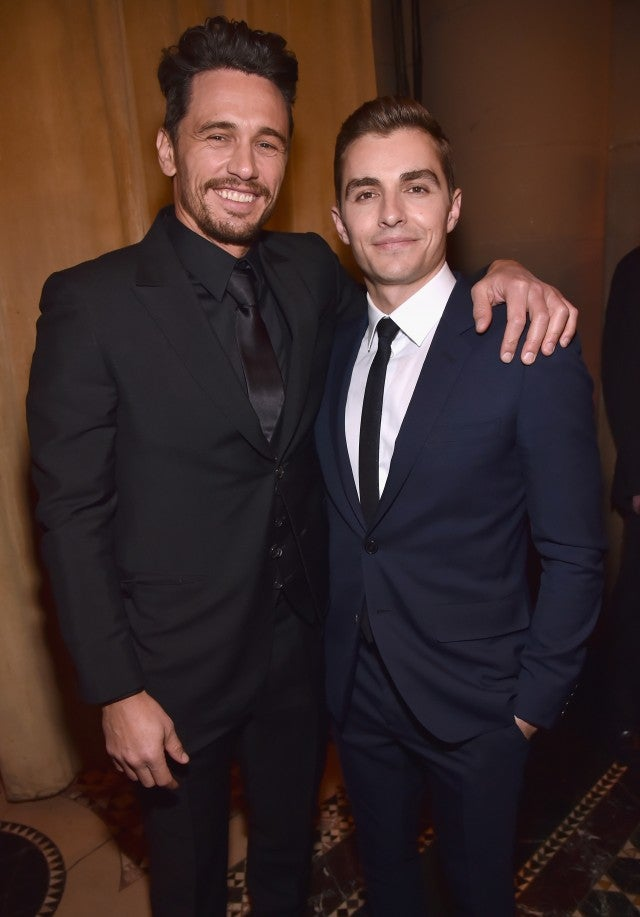 James Franco and Dave Franco at the National Board of Review Annual Awards Gala