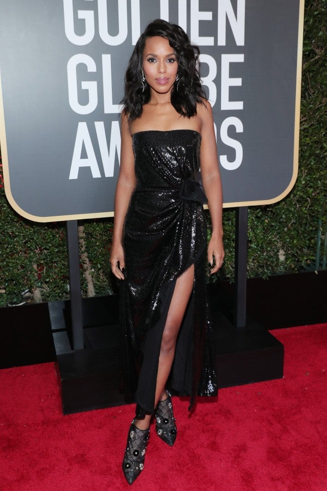 Kerry Washington at 2018 Golden Globes