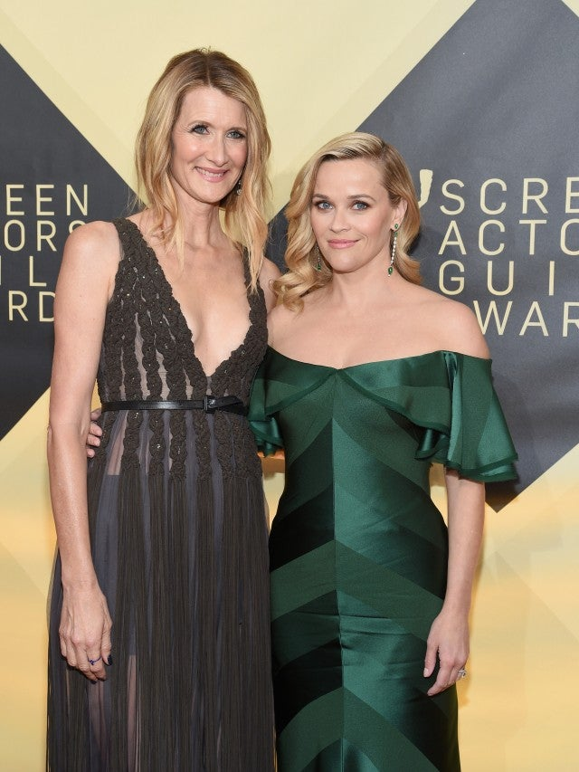Laura Dern and Reese Withersppon at 2018 SAG Awards