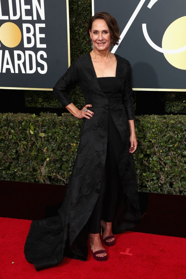 Laurie Metcalf at 2018 Golden Globes