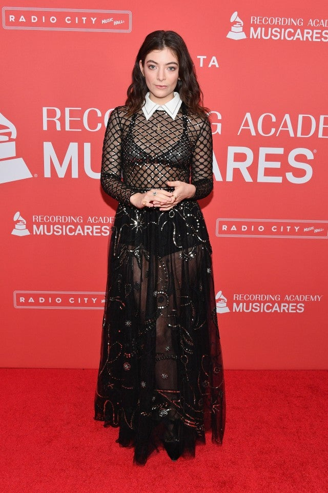 Lorde at Music Cares