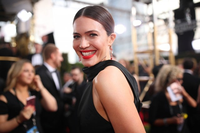 Mandy Moore Golden Globes 2018