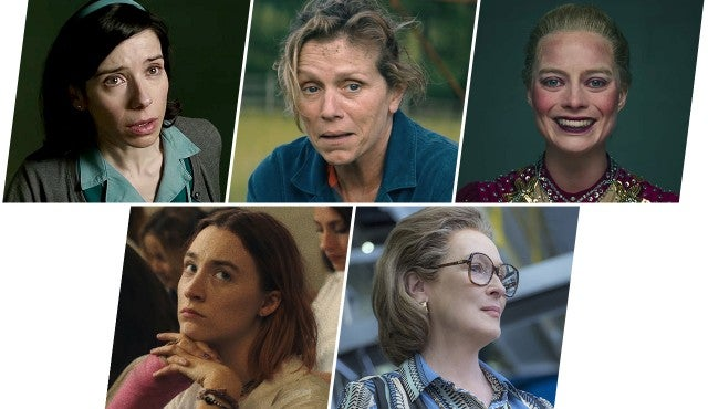 Oscars 2018, Best Actress Nominees
