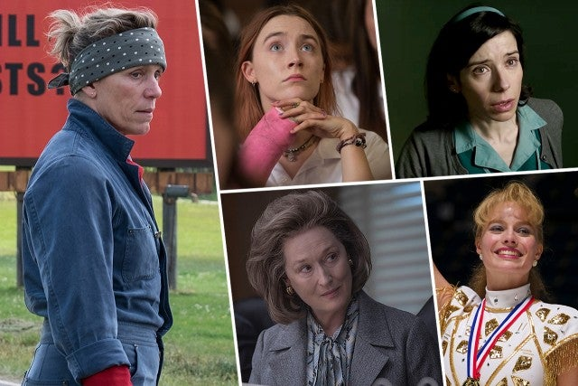 Resultado de imagem para oscar 2018 nominees actress