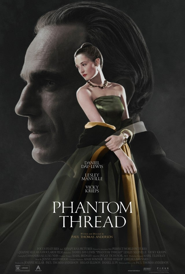 Phantom Thread, Daniel Day Lewis