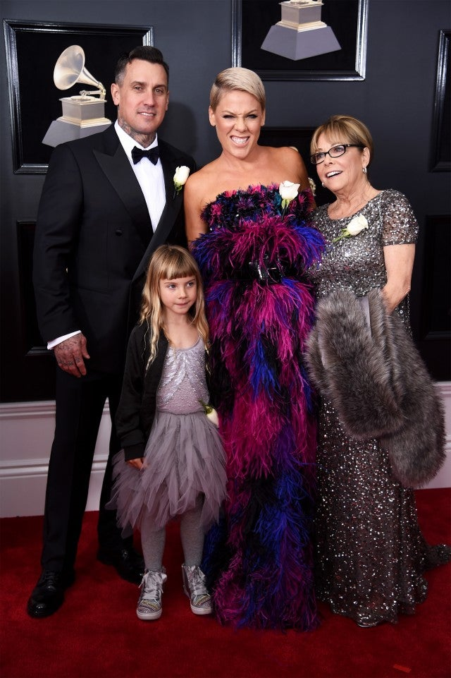 Pink and Family at GRAMMYs