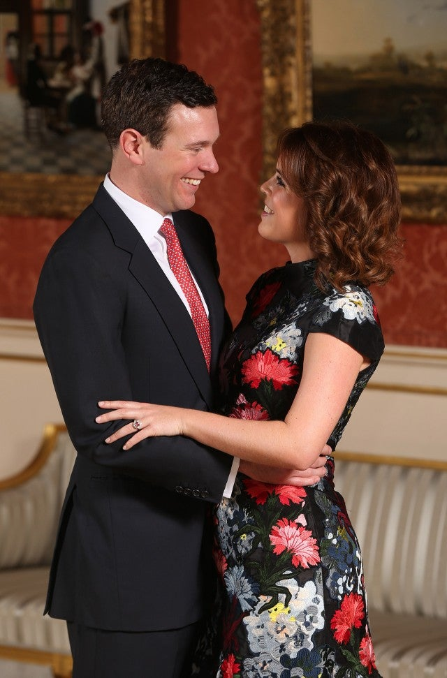 Princess Eugenie and James Brooksbank