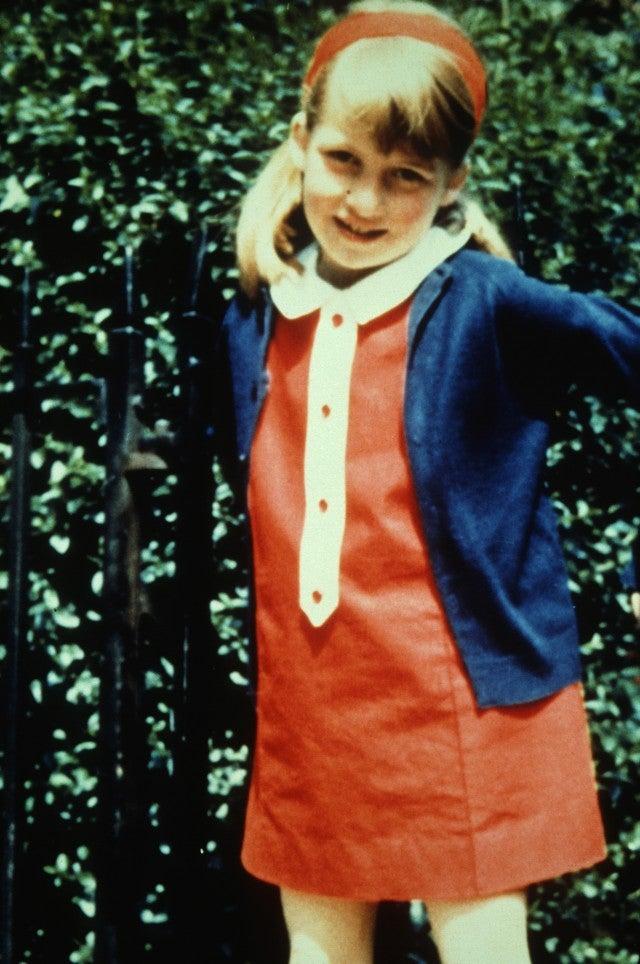 Princess Diana's childhood photo