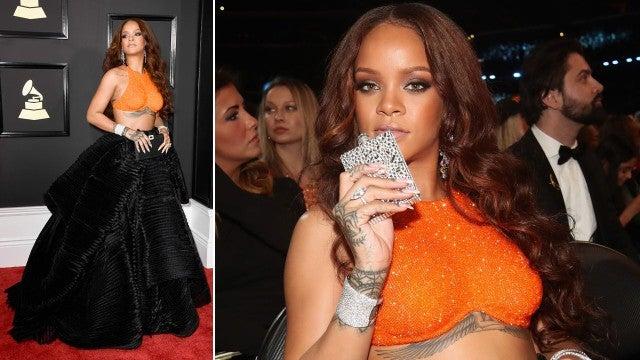 Grammys: GRAMMYs Flashback: Rihanna, Lady Gaga And Pink's Epic Red