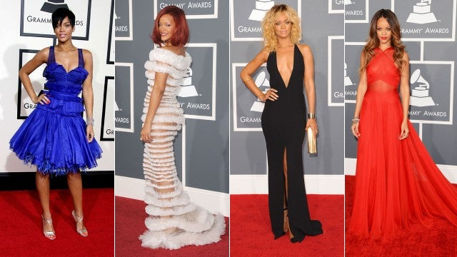 Rihanna GRAMMY looks