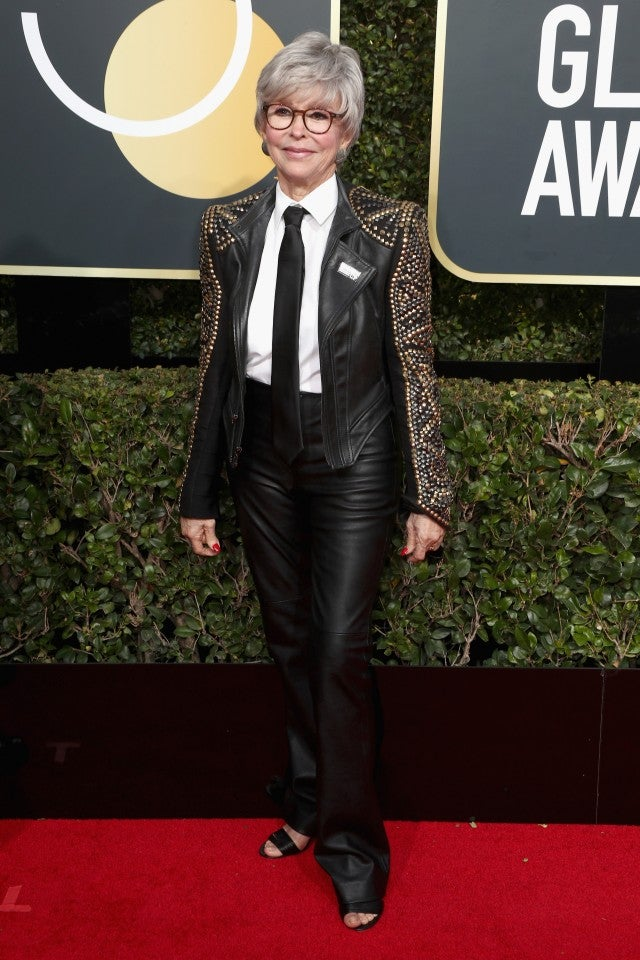 Women Make A Strong Statement In Suits At Golden Globes