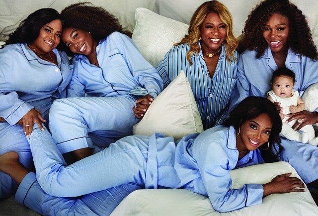 Serena Williams in 'Vogue'