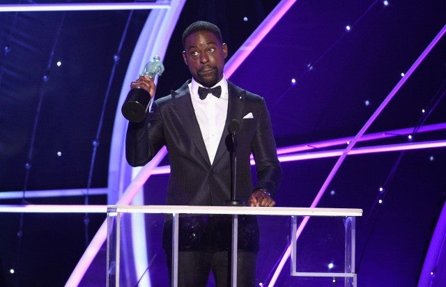 Sterling K. Brown Wins at SAG Awards 2018