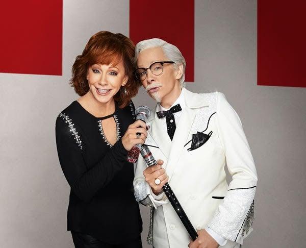 Reba McEntire Is KFC's Newest Colonel Sanders -- See the ...