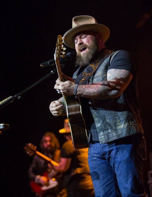 Zac Brown Band performs on NYE