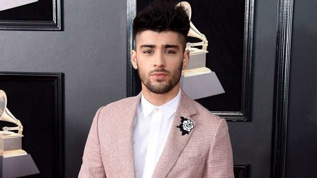 Zayn Malik at 2018 GRAMMYs