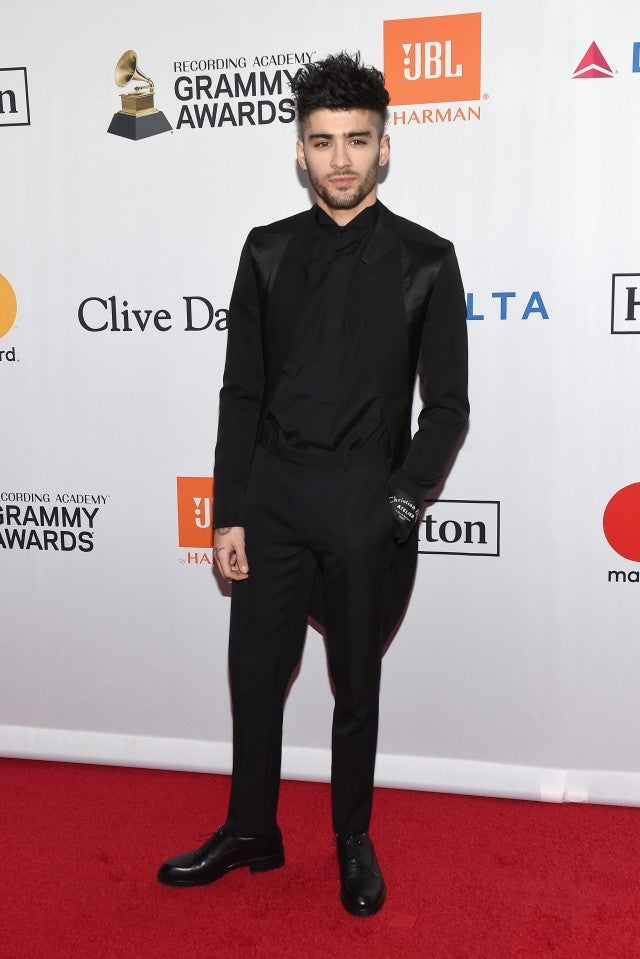 Zayn at Clive Davis Party