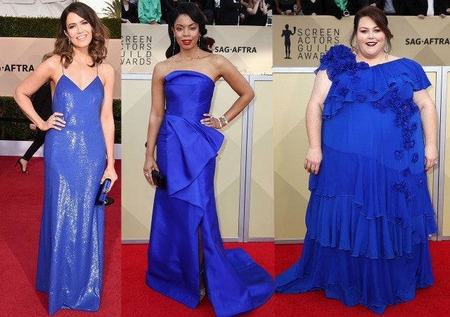 Glittery Gowns, Shades of Blue & More: The Best Fashion Trends From ...