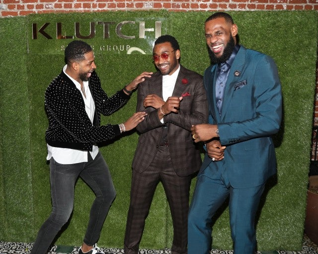 Tristan Thompson, John Wall, LeBron James Rich Paul's Klutch Sports Group hosted their annual 'The Game Is Every-Thing' dinner party at Beauty & Essex
