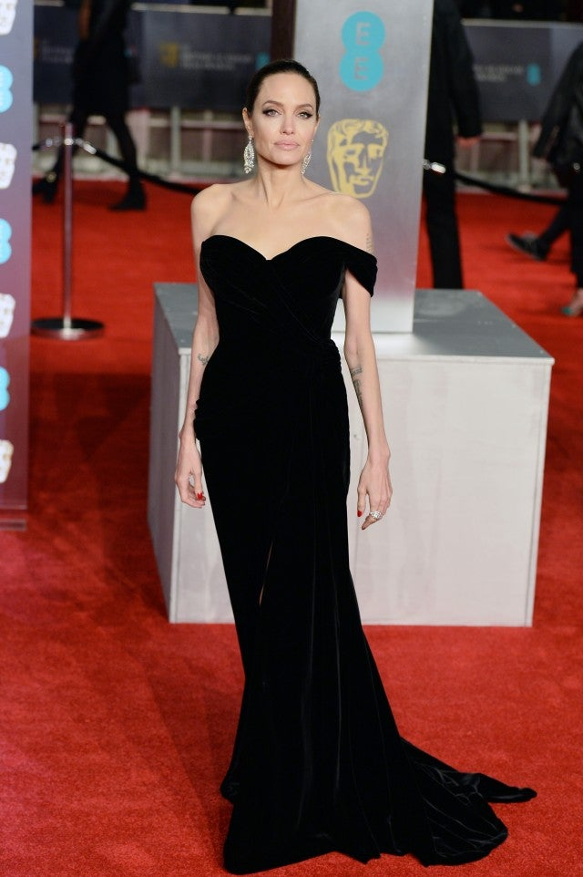 Jennifer Lawrence, Angelina Jolie and More Wear Black at the 2018 ...
