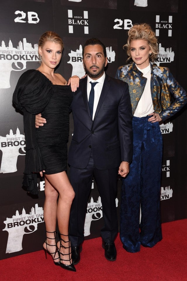 Charlotte McKinney and AnnaLynne McCord at first we take brooklyn screening