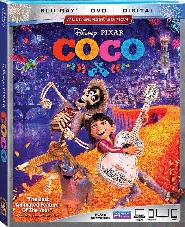 Coco DVD Artwork