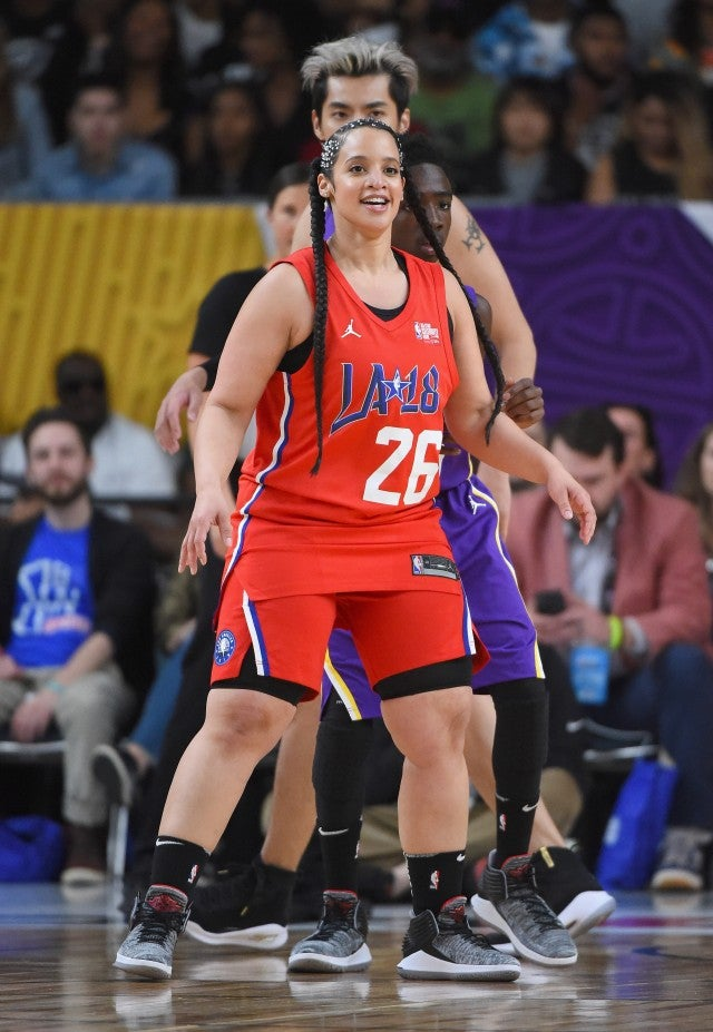 Dascha Polanco NBA All Star Game
