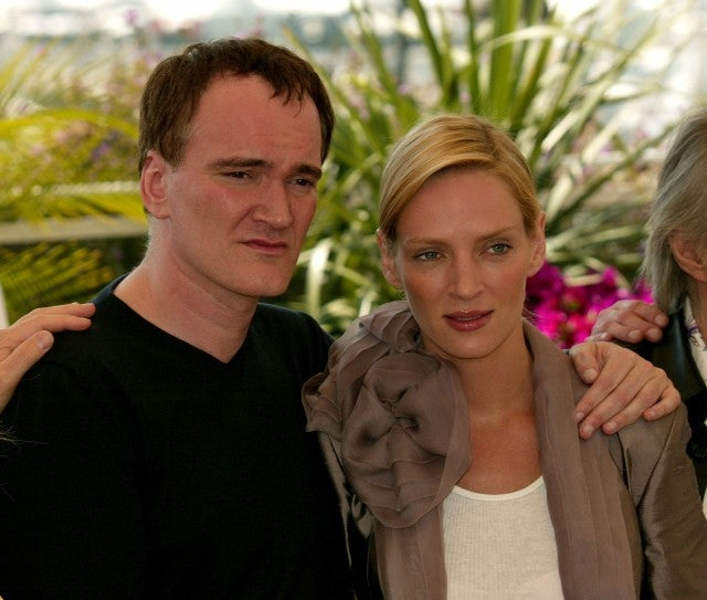 Thurman and Tarantino promoting'Kill Bill 2 at the Cannes Film Festival in 2004. Evan Agostini  Getty Images