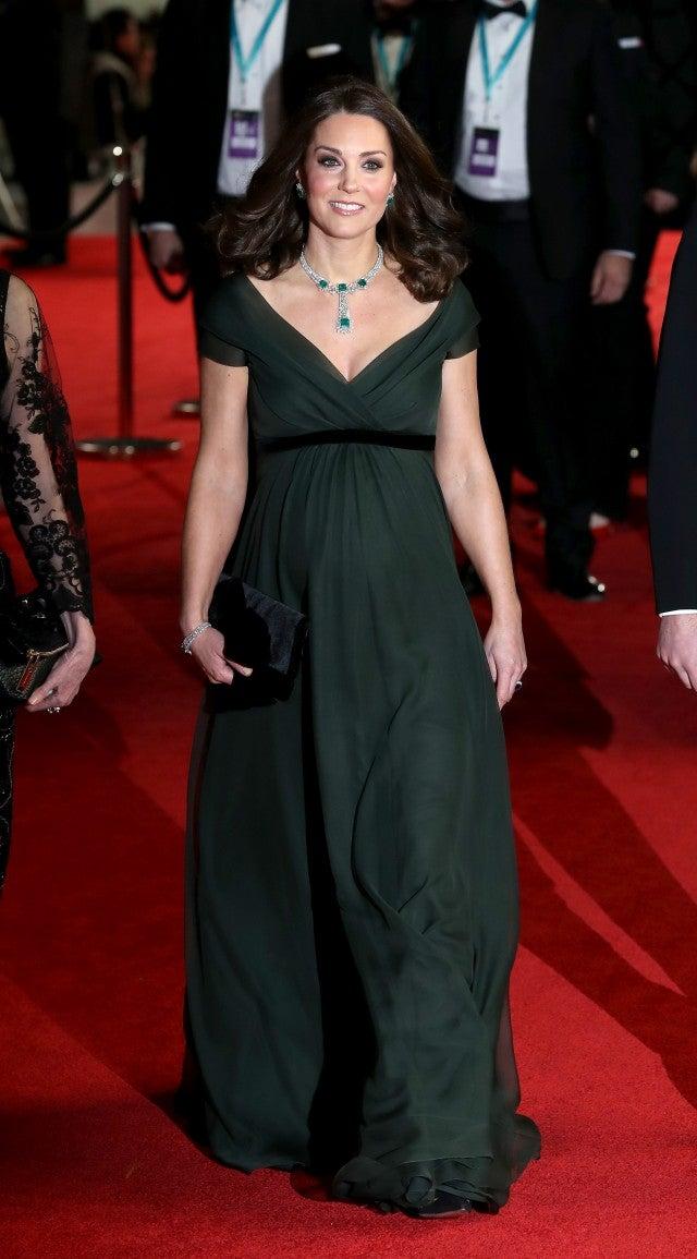Kate Middleton at 2018 BAFTAs