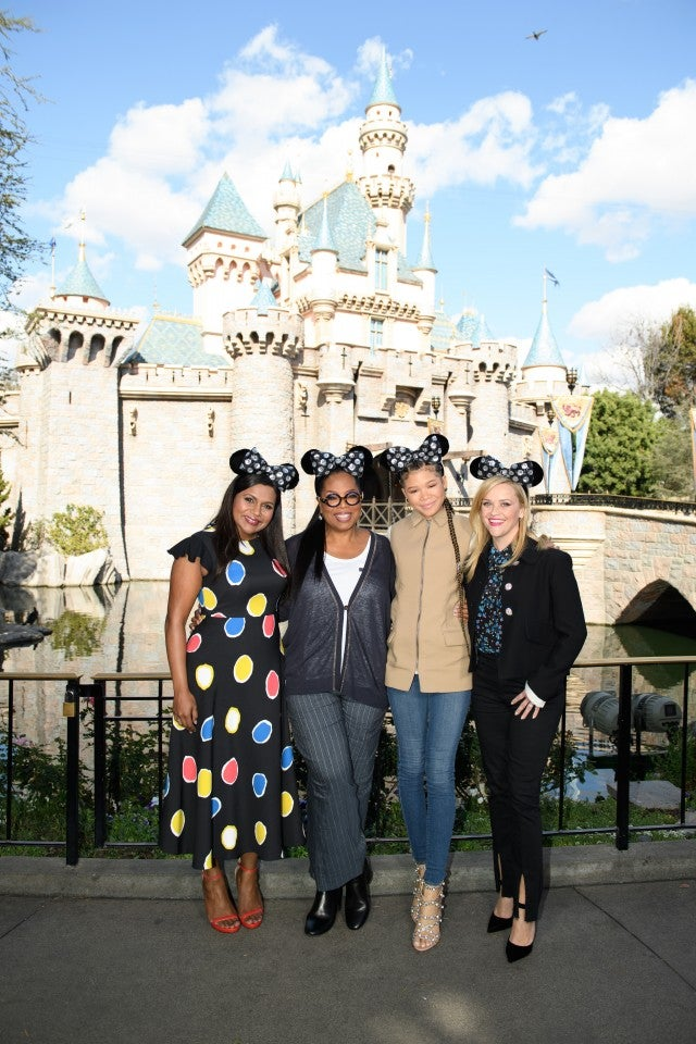 A Wrinkle in Time Cast Disneyland