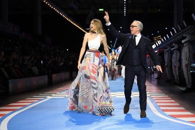 Gigi Hadid and Tommy Hilfiger - Milan Fashion Week