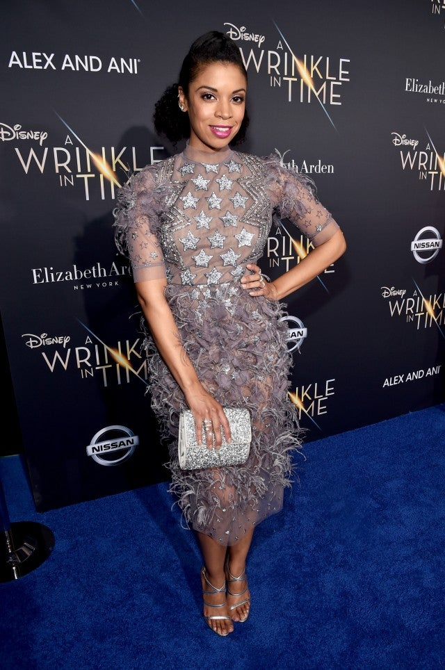 Susan Kelechi Watson at a wrinkle in time premiere